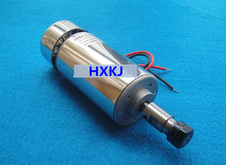 Free Shipping CNC spindle motor 300w spindle motor air cooling spindle DC motor Engraving Machine ER11 collets for wood router dc110v 500w er11 high speed brush with air cooling spindle motor with power fixed diy engraving machine spindle