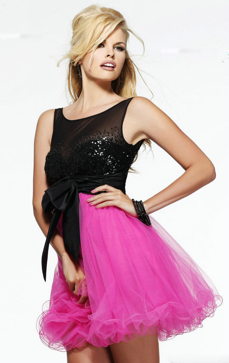 Excepcional Vestido De Fiesta Una Correa Ideas Ornamento Elaboración ...