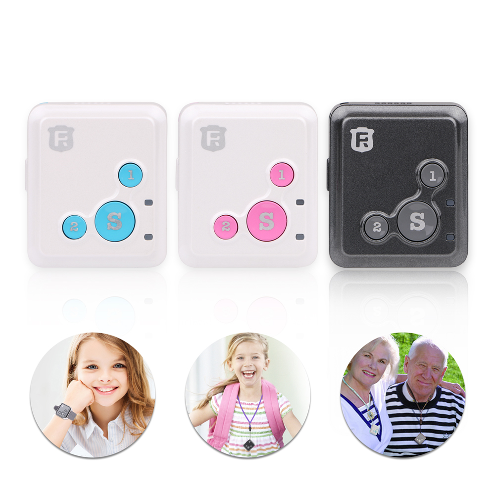 Mini Kids GPS Tracker Personal Child GPS Locator RF V16 Real Time Tracking 7 Days Standby