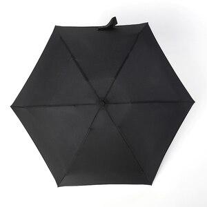 Image 5 - Guarda chuva dobrável para homens e mulheres, mini guarda chuva portátil com bolso, 180g, resistente à água, mini, de viagem
