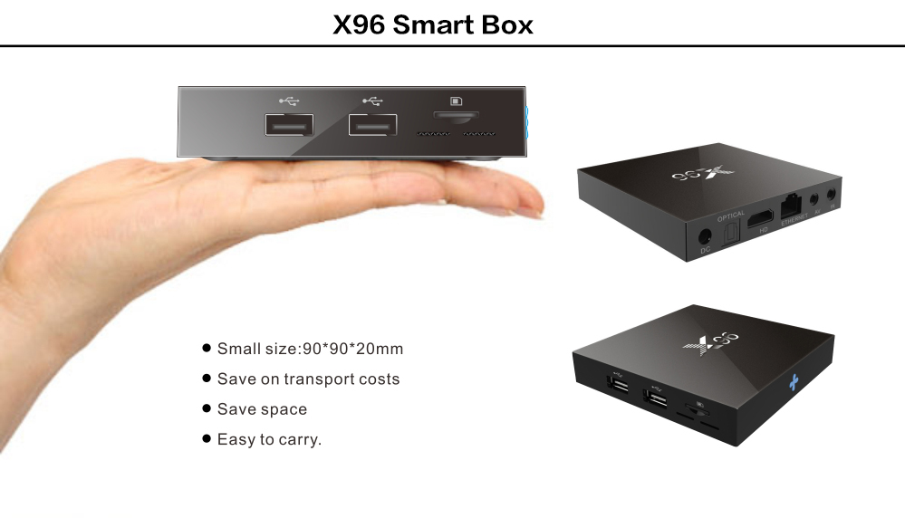Aliexpress com : Buy Trend Design X96 S905X Android 6 0 Mini Smart TV Box  1+8GB 2 + 16G Support 2 4GHz WiFi HD 4K Media Player Set Top Box from