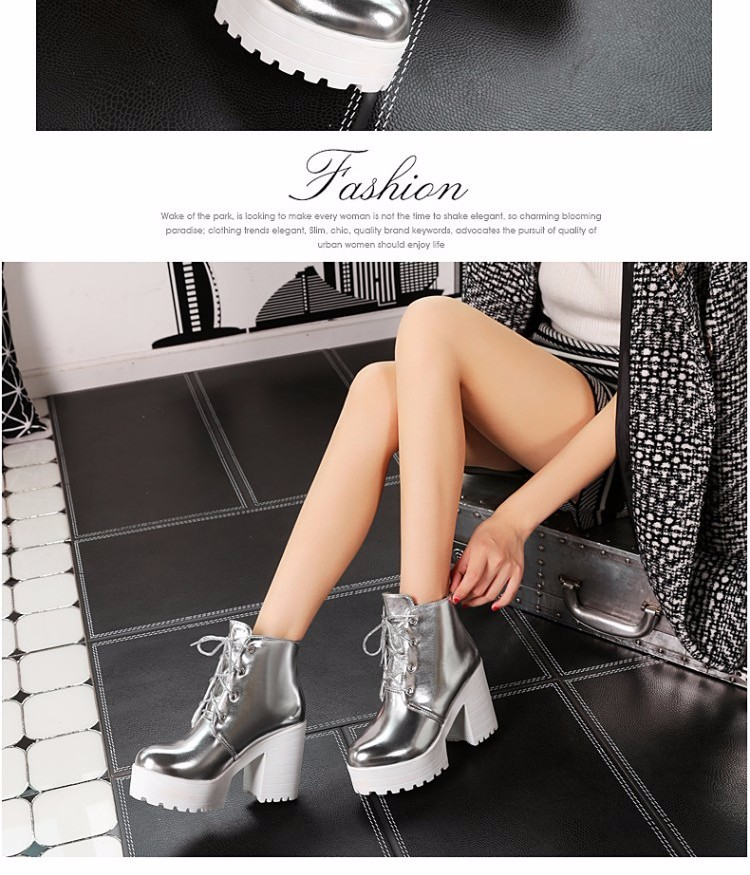 High Quality women pumps thick heels