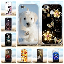 For ZTE Blade A6 Lite Cover Ultra Slim Soft TPU Silicone Case Dog Patterned Coque Bag