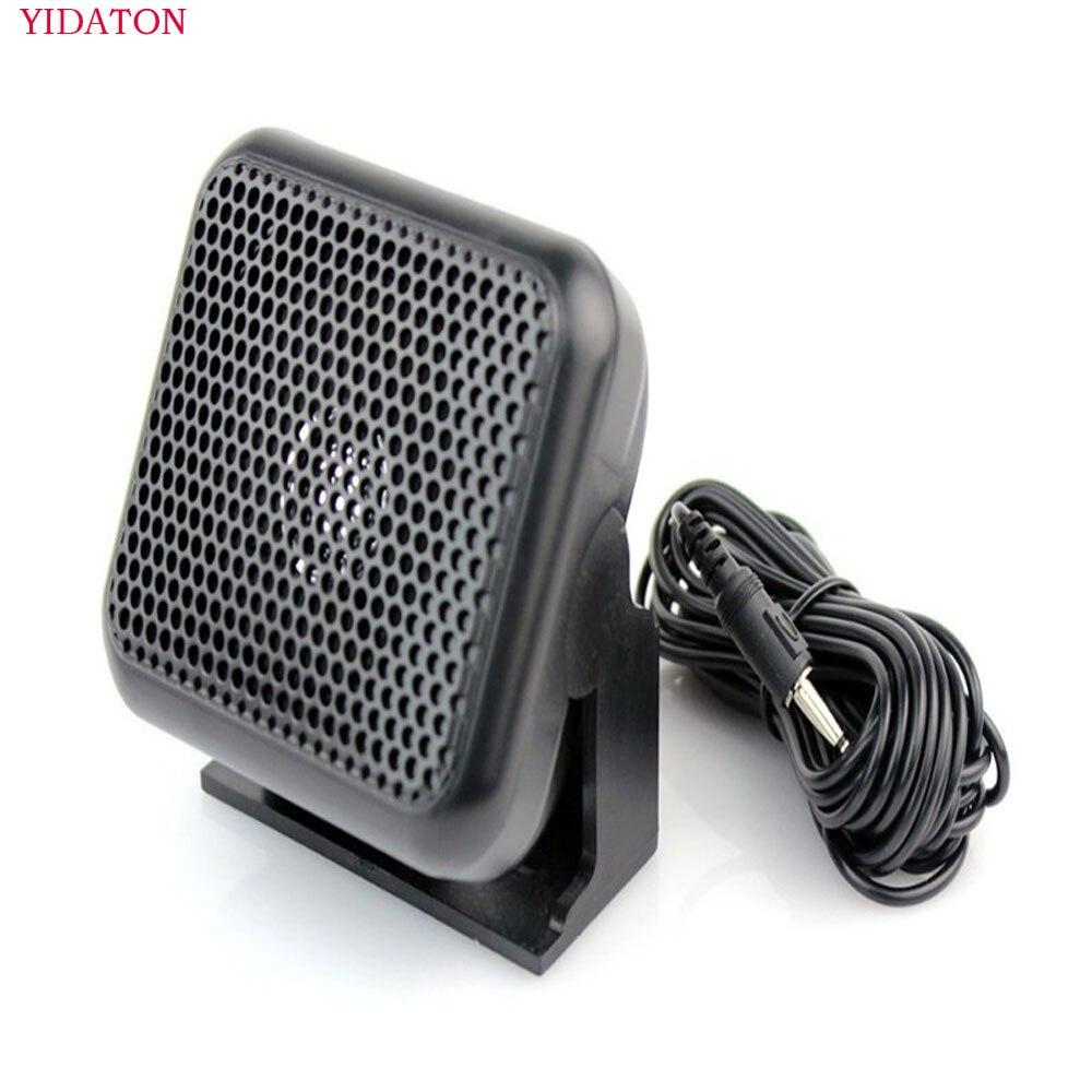 Haut-parleur p600 voiture radio haut-parleur externe 3.5mm pour yaesu kenwood radio mobile ft-7800e ft-7900r ic-2200 ic-2100 tm271a tm471a