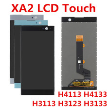 5.2 For Sony Xperia XA2 LCD Display Touch Screen Digitizer Assembly Replacement For SONY XA2 LCD H4133 H4131 H4132 4 6 white or black for sony xperia z3 mini compact d5803 d5833 lcd display touch digitizer screen assembly sticker
