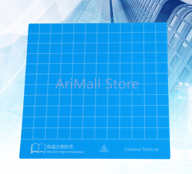 2pcs Blue Build Sheets With 3M Backing High Temperature Resistance Heated  Bed Sticker For Creality Ender3