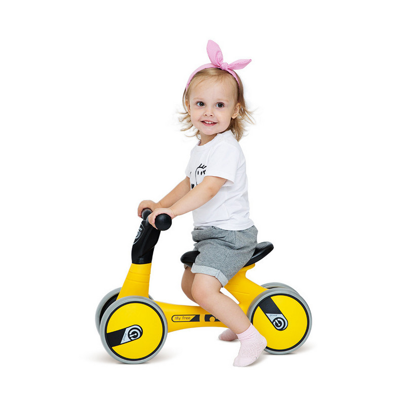 Twisting Car 1-3 Years Old Yo Baby Scooter Baby Walker 2 Years Old Baby Toys with Closed Wheel New Children Ride On Toys Toy car