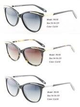 Eye wonder mujeres handmade acetato gafas de sol polarizadas gafas de sol retro vintage cat eye marcos de los vidrios de protección uv