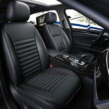 El nuevo 2017 pequeño bastante cintura alta calidad de carbón de bambú coche cinturón para la espalda de cuero four seasons general de un solo asiento delante de th