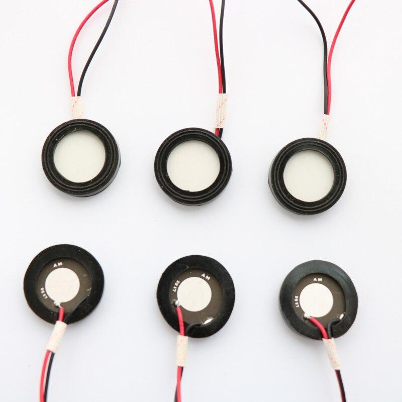 6 unids Precio de Fábrica 25mm transductor de atomización humidificador accesorios de cerámica piezoeléctrica