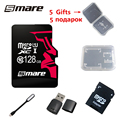 Smare new micro sd card memory card 128GB real class 10 memory card free Gifts