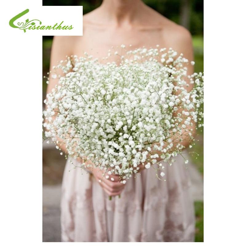 Bouquet Sposa Fiori Piccoli.5 Pz Artificiale Babysbreath Wedding Decorativa Gypsophila 243