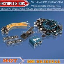 Бесплатная доставка octoplus box для samsung для lg + jtag активации с optimus набор кабелей (25 шт.)