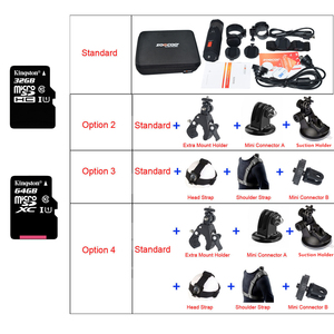Image 5 - SOOCOO S20w Waterproof Camera Action Underwater Camera Sport Onderwater black cam bullet for bike bicycle gun helmet with box