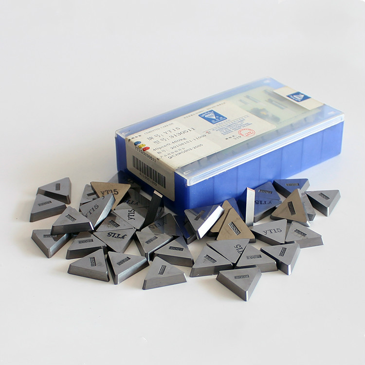 5PCS Triangle Cemented Carbide Inserts Cutter Tip YG6 3100511 Cutting Tools