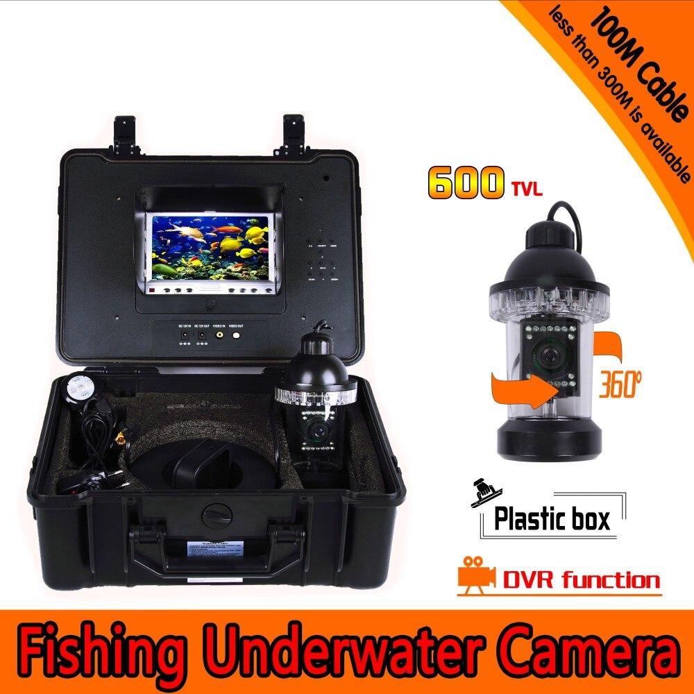 Undervattensfiske-kamerakit med 100 meters djup 360 roterande kamera - Säkerhet och skydd - Foto 3