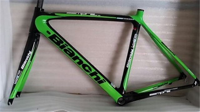 green colors cheap carbon frame road bike bianchi chinese carbon frames
