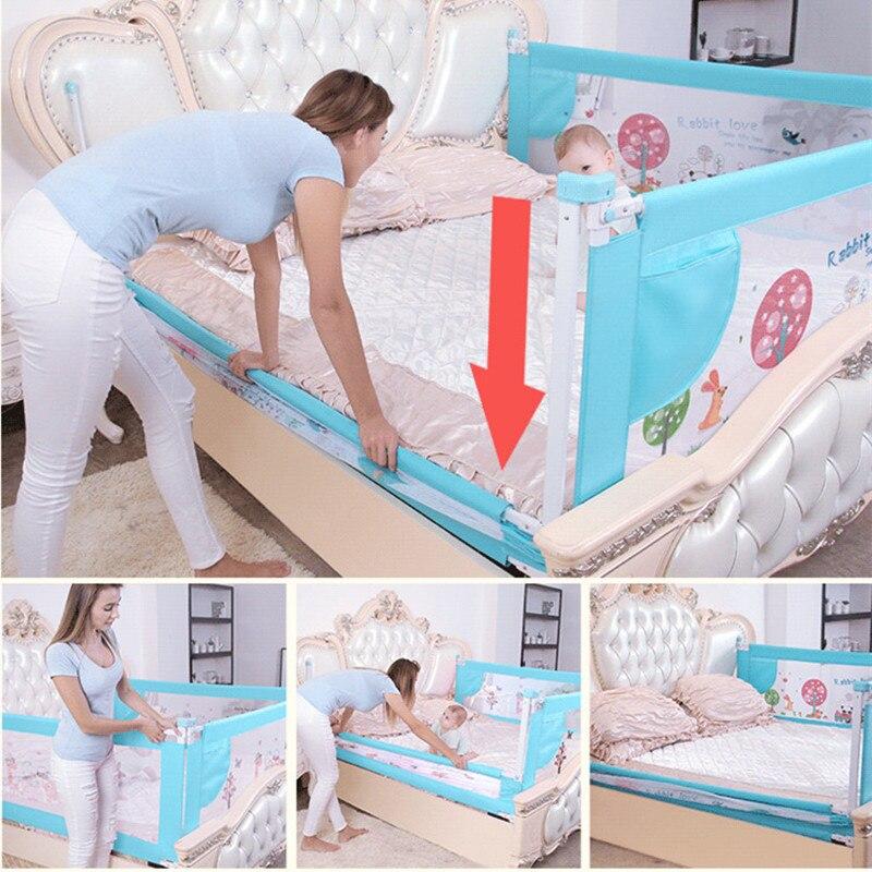 Barrière de lit de bébé maison enfants parc porte de sécurité produits barrière de garde d'enfants pour lits Rails de berceau clôture de sécurité garde-corps d'enfants