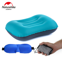 NEW Naturehike Portable Office Inflatable Aeros Pillow Travel Air Pillow Camping Sleeping Gear For Office Lady