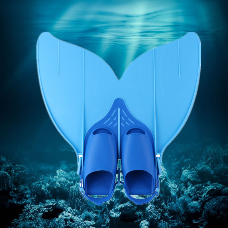 474819 Flipper Training Shoes Tail Diving Feet Tail Diving Tool Mermaid Swim Fin Swimming Foot