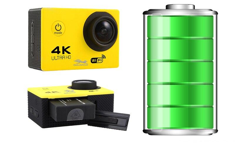 Câmeras de ação