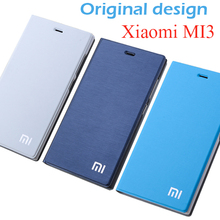 Original design Xiaomi Mi3 Case High Quality frosted PU Leather Cover Case for Xiaomi Mi3 M3 Flip Cover with Stand Function