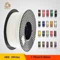 1.75mm ABS Filament Spool 1 kg Suprimentos para Impressoras 3D Makerbot, Mendel, Prusa, Huxley, série BFB3000