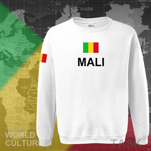 Republic of Mali hoodie men sweatshirt sweat new hip hop streetwear tracksuit nation footballer sporting country MLI Malian 4