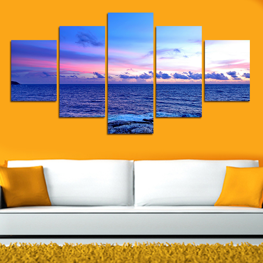 Famous Seaside Wall Decor Adornment - Wall Art Collections ...