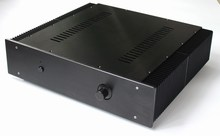 WA43 Aluminum enclosure Preamp chassis Power amplifier case/box size 430*463*113MM