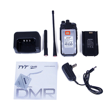 TYT MD-446 UHF 5W 7.4V 2000mAh VOX Clock TDMA Digital Mobile Radio (DMR) Two Way Radio Walkie Talkie Radio Transceiver