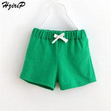 HziriP/Новинка года, лидер продаж, летние детские модные штаны ярких цветов с эластичной резинкой на талии, шорты для мальчиков и девочек, 10 цветов
