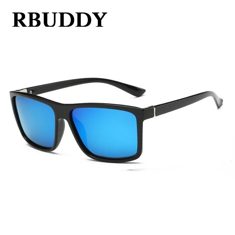 RBUDDY 2017 Sunglasses men Polarized Square sunglasses