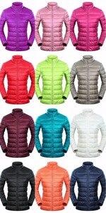 Image 5 - Marca NewBang 6xl 7XL 8XL Plus chaqueta ultraligera para mujer, chaqueta de plumón de pato, cortavientos y ligera, abrigos finos cálidos