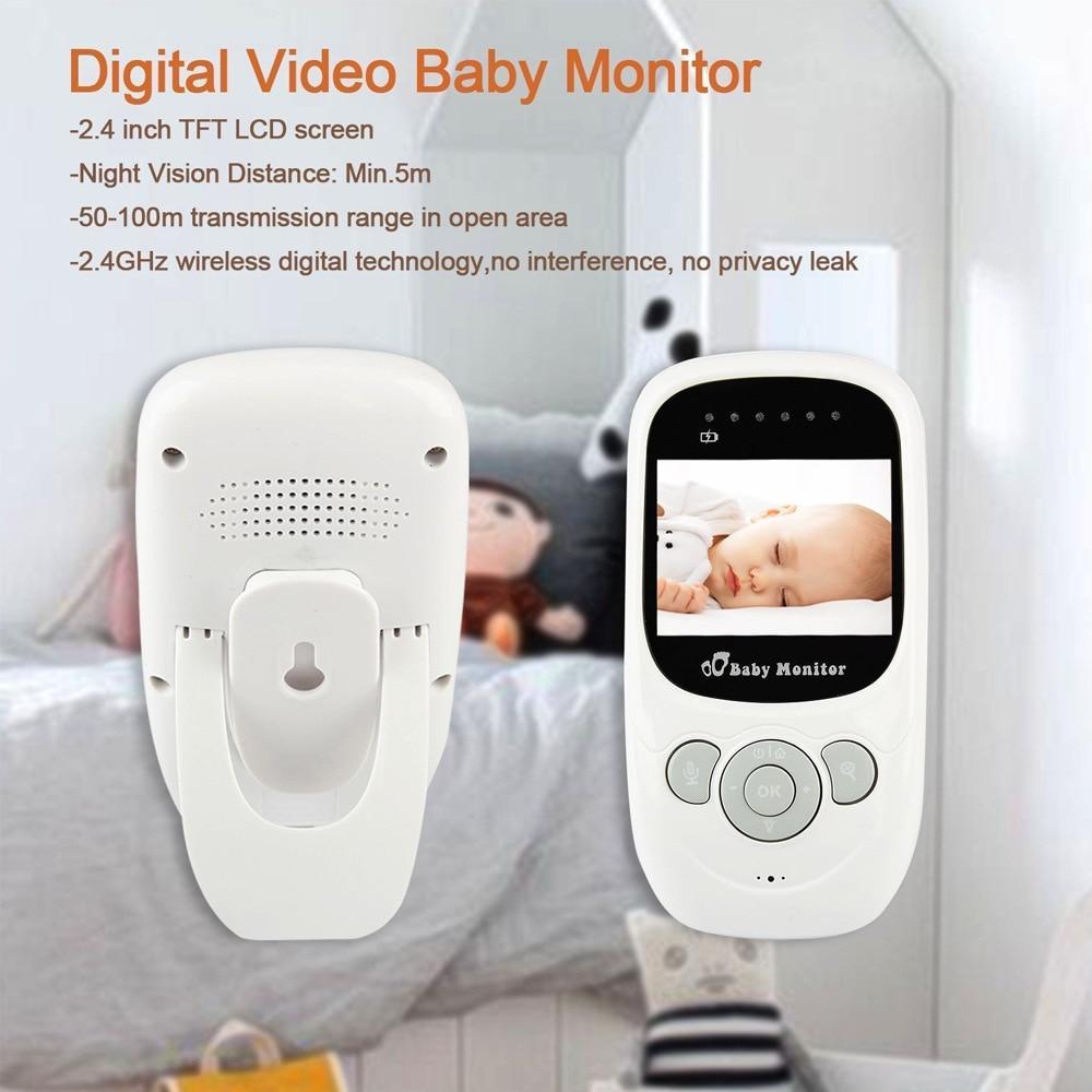 IMPORX nouveau moniteur bébé 2.4 pouces LCD sans fil bébé caméra 2X bébé téléphone Vision nocturne caméra de sécurité parler bidirectionnel Bebek Telsizi - 6