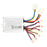 New Arrival 24V 500W Motor Brush Speed Controller For Electric BicyclE Mountain Bike Scooter Hot Sale