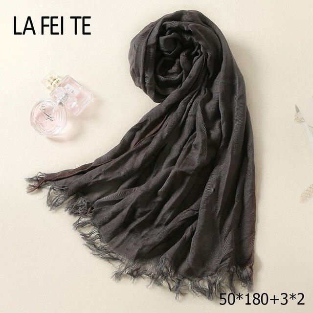 Hiver Coton Longues Femmes Homme Écharpe Mâle Foulard Femme Foulard De Luxe  Tube Cou Pli Hijab 2fc8ccccf89
