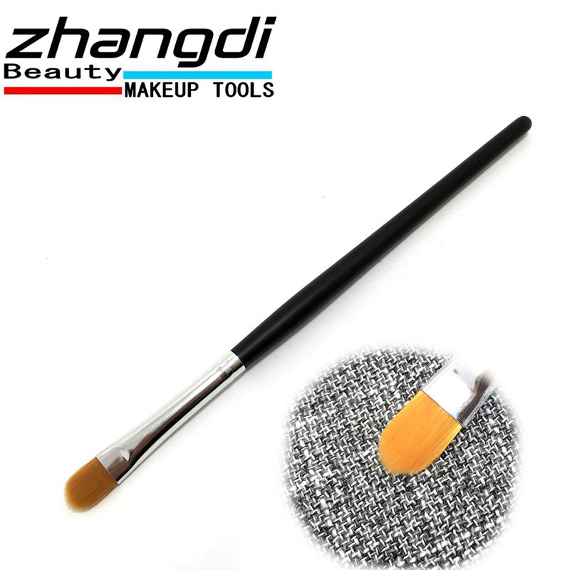 NEW Good quality 1PCS makeup brush wooden rod 17CM cone concealer brush Z020015(China)