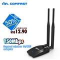 150 mbps de alta potência adaptador usb wifi com chipset ralink rt3072 comfast 12dbi antena wi-fi adaptador de rede sem fio wi-fi router