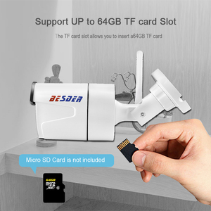 Image 3 - Kamera BESDER CamHi IP bezprzewodowa 1080P z gniazdo karty Micro SD ONVIF kamera do monitoringu domu Wi fi Chrome IE interfejs strony internetowej