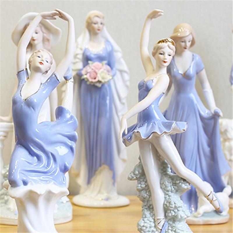 Zanat qeramike të shkallës së lartë bashkëkohore të engjëllit - Dekor në shtëpi - Foto 4
