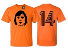2019 Funny Cruyff 14 Holland Football T Shirt - Netherlands Euros Fan New Double Side Unisex Tee