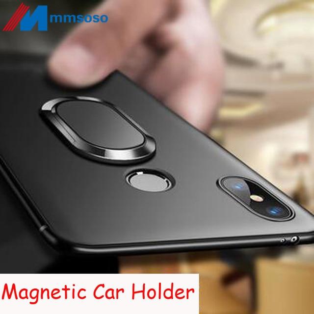 new style ea579 17a43 Xiaomi Redmi Note 5 Pro Case Magnetic Case for Redmi Note5 Pro Soft  Silicone Magnet Cover Redmi Note 6 Pro A2 MI 8 MI8 LITE