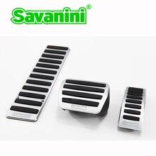 Savanini автомобильная подставка для ног, газовые тормозные педали, не сверлящие для Volkswagen Golf GTI R(-) и Passat(-) Авто