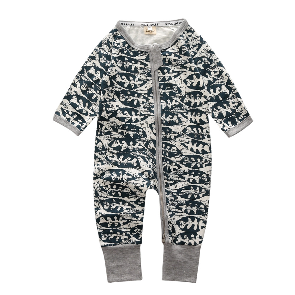 6edf81c7c4ba Winter Baby Rompers Boys Girls Jumpsuit Climbing Clothes Baby Boy ...