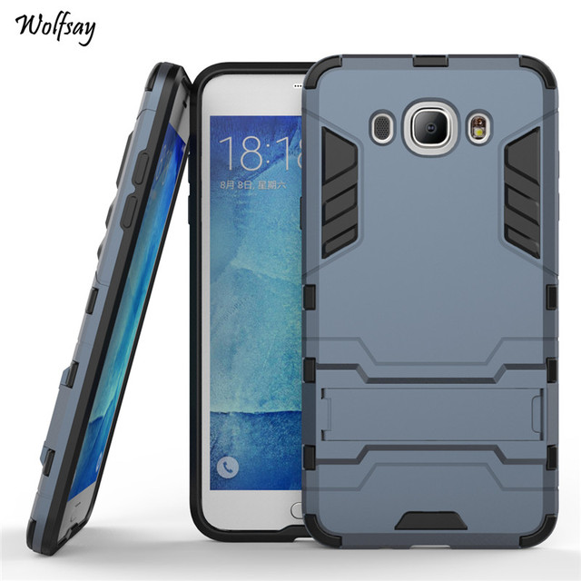 a5be3e8bad Wolfsay Case For Samsung Galaxy J7 2016 Cover Slim Robot Rubber Case For  Samsung Galaxy J7