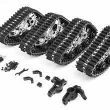 Losi 5ive-T Rovan LT металлические Передние Задние гусеничные зимние наземные шины трек специальный комплект кругов 1/5 масштаб