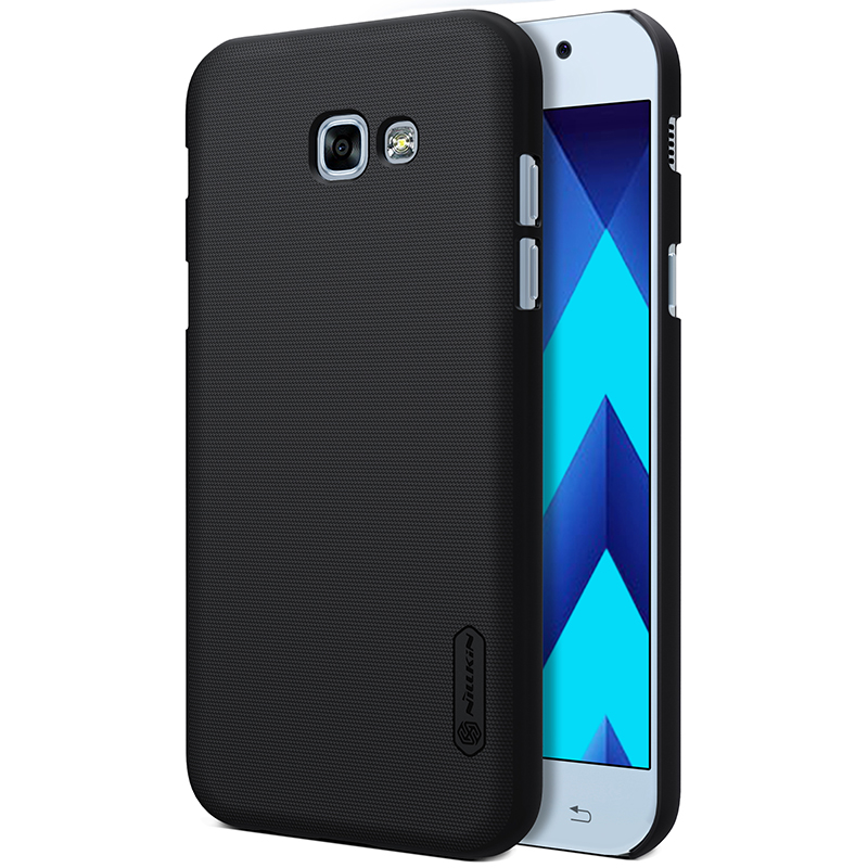 sFor Samsung Galaxy A3 2017 Case 4.7 inch Nillkin Frosted Shield Case for Samsung Galaxy A3 2017 A320 Gift Screen Protector