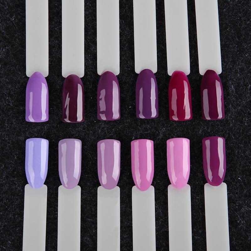 ROSALIND Gel Nail Polish Set Acrylic Nail Kit 12PCS/LOT Soak Off Hybrid Lacquer Semi Permanent Gellak Varnish Set For Manicured