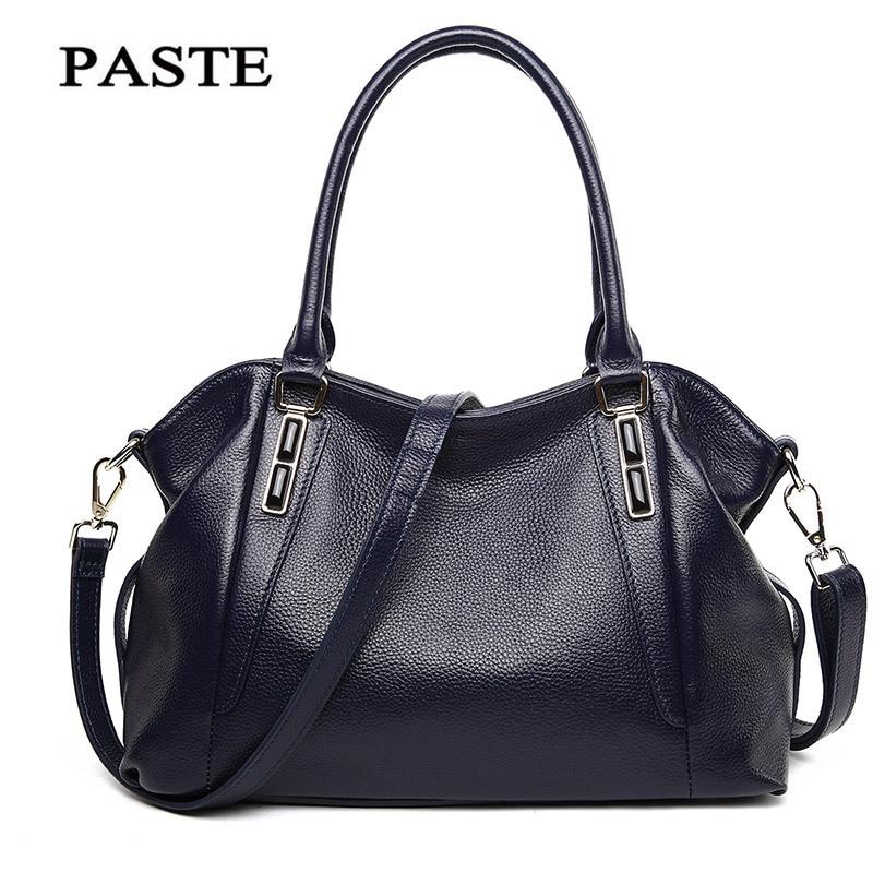 2017 Fashion Famous Designers Brand Handbag Women Genuine Leather Bag balestra Large Capacity Female Messenger Bags
